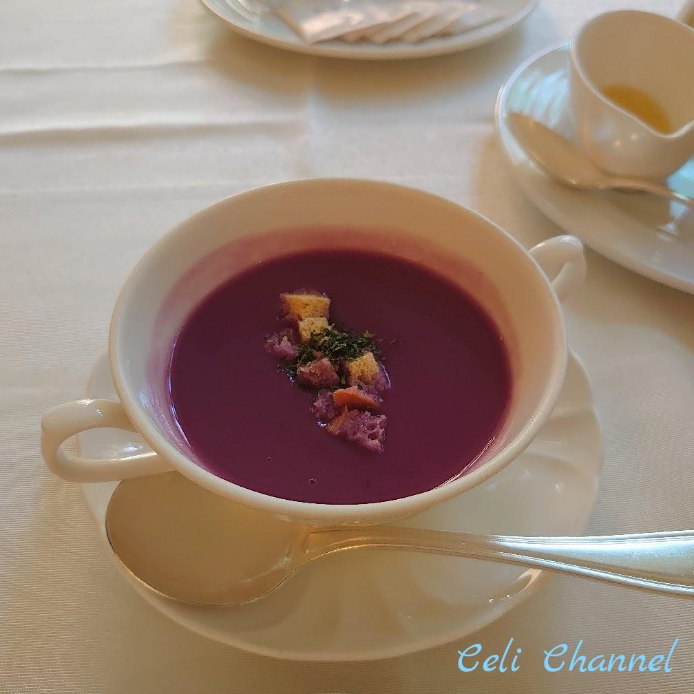 ナハテラス 朝食 スープ