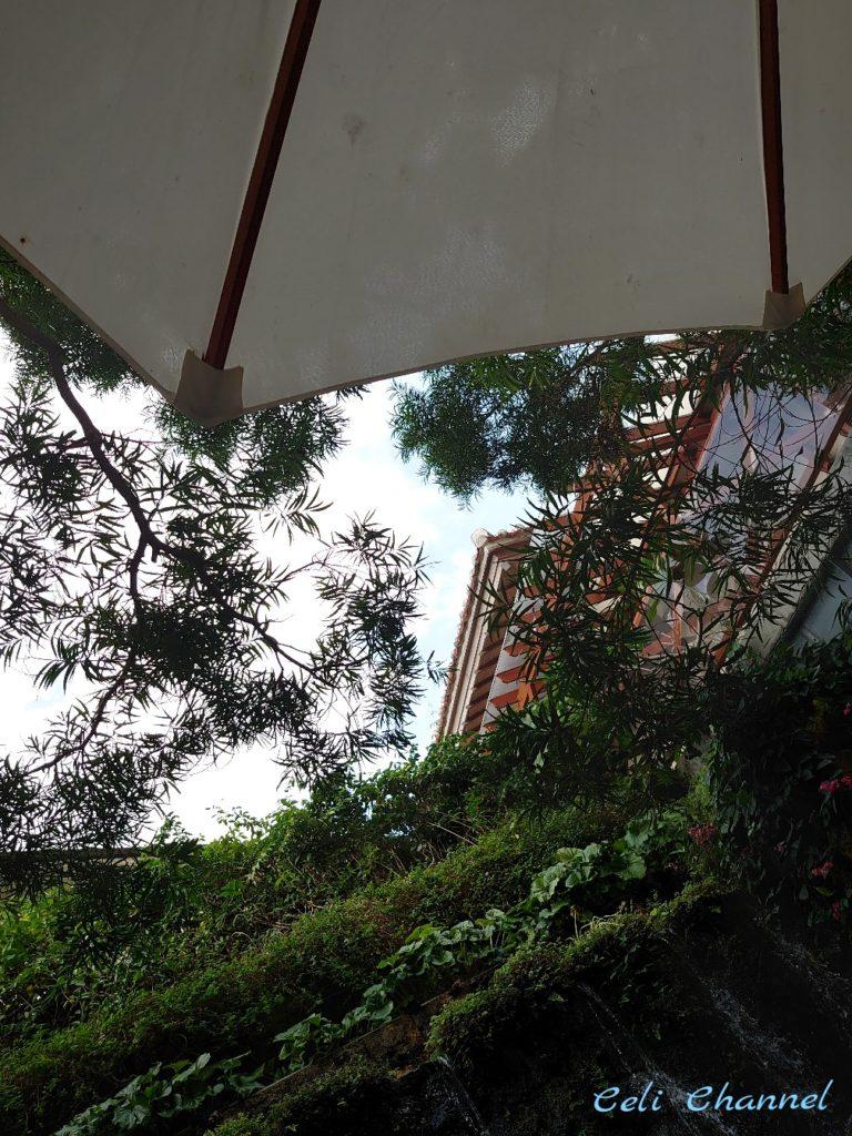 Naha Terrace afternoon tea テラス席