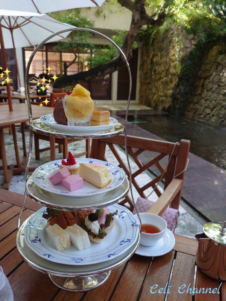 Naha Terrace afternoon tea