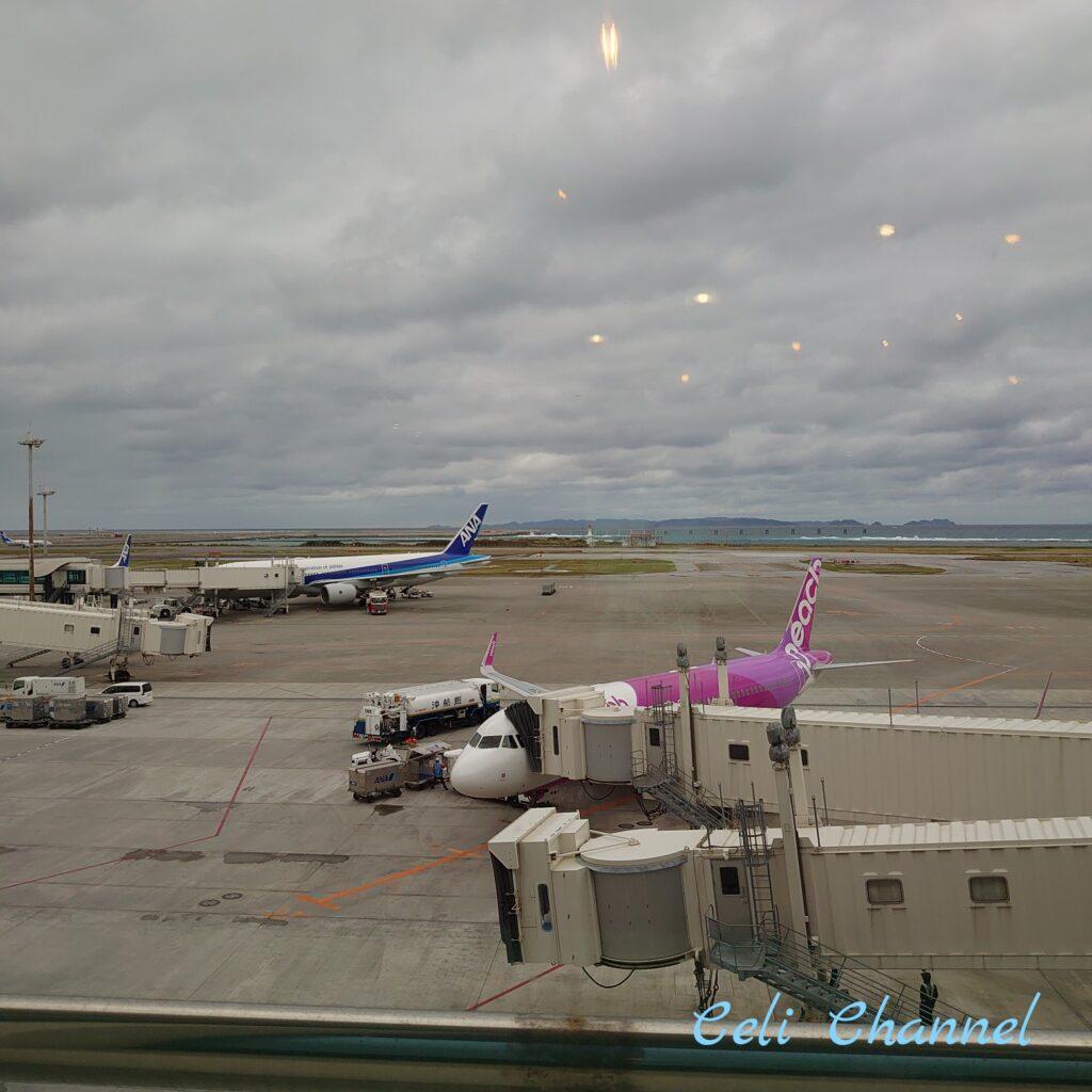 ステーキハウス88那覇空港店からの眺め